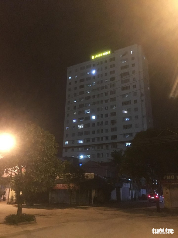 The 15-story Lotus House Apartment Building. Photo: Tuoi Tre