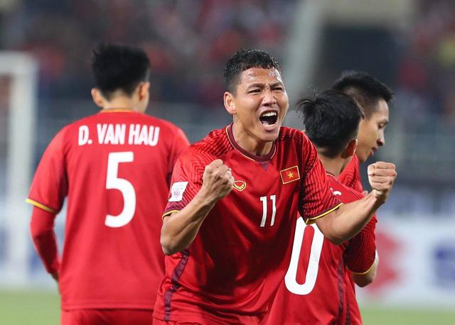 Vietnam's striker Nguyen Anh Duc. Photo: Tuoi Tre