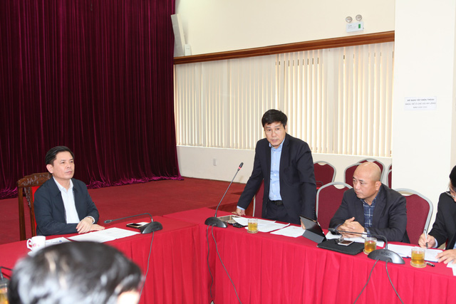 Minister of Transport Nguyen Van The speaks at a meeting on December 27, 2018. Photo: Tuoi Tre