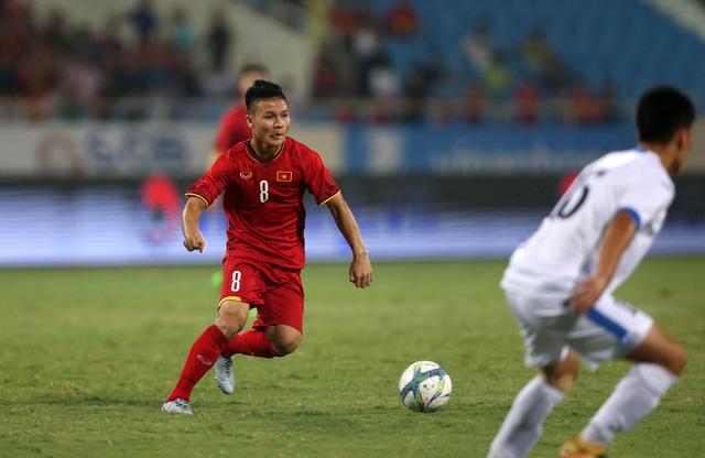 Vietnam's midfielder Nguyen Quang Hai. Photo: Tuoi Tre