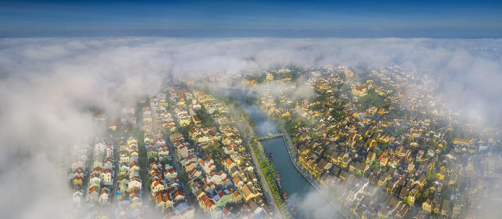 Vietnam's Hoi An appears heavenlike in aerial photos