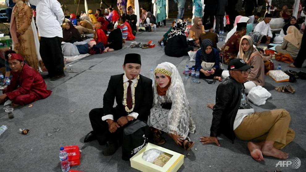 Indonesia welcomes 2019 with mass wedding in Jakarta