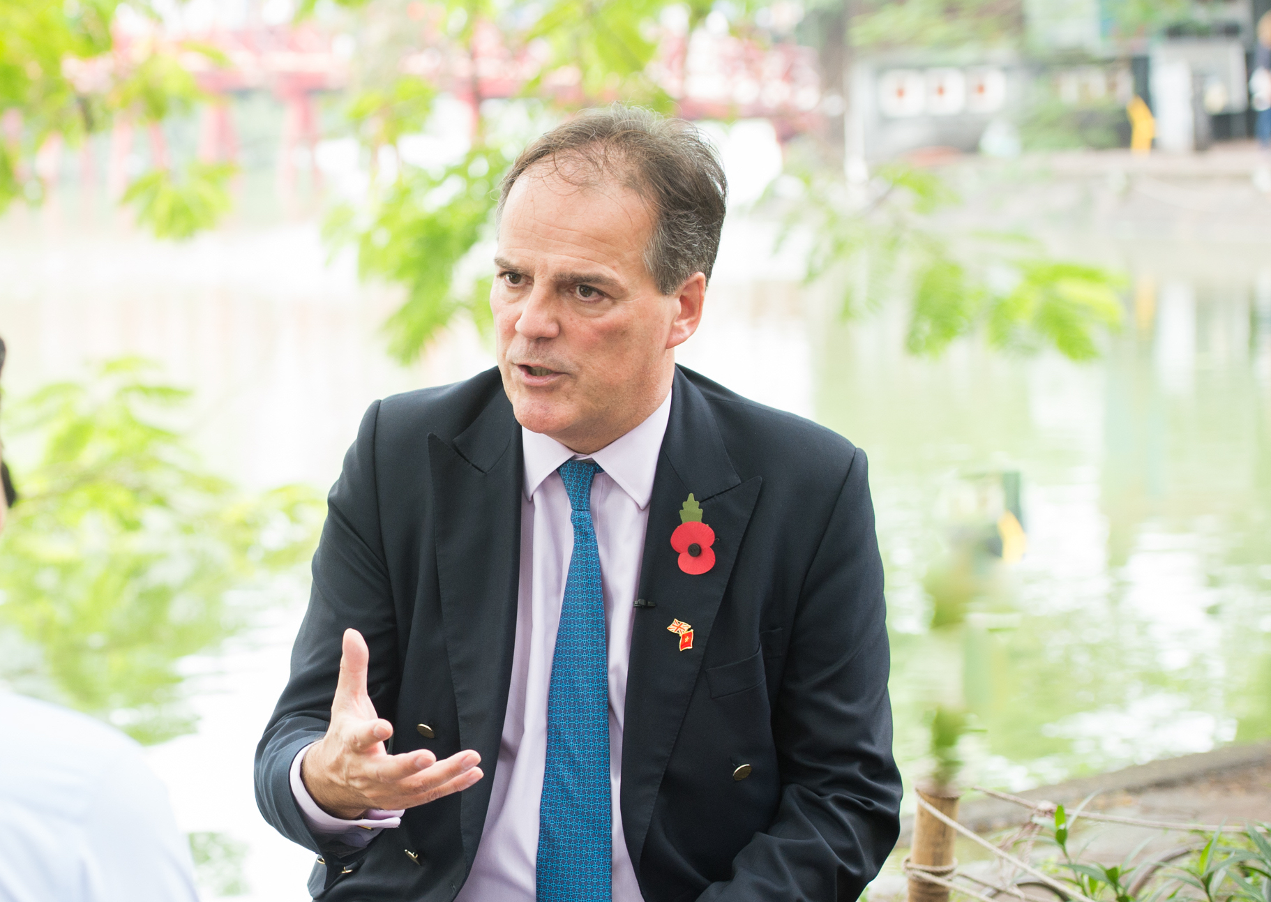 British Minister of State for Asia and the Pacific Mark Field