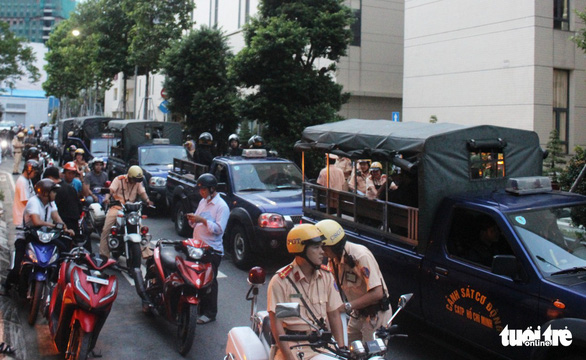 Ho Chi Minh City police launch special unit to combat street crime