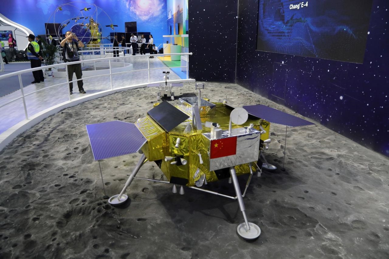 China 'lifts mysterious veil' by landing probe on moon's dark side