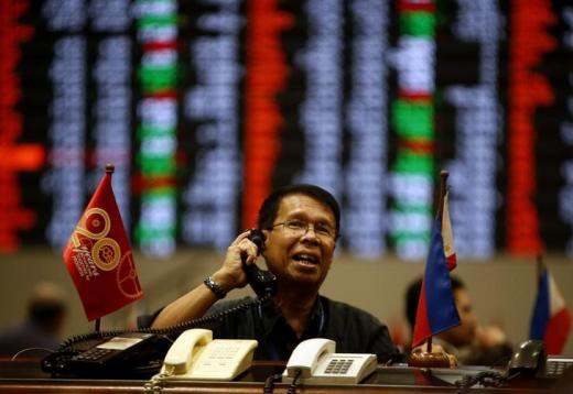 Philippines stocks top gainer; Vietnam sinks on Apple woes