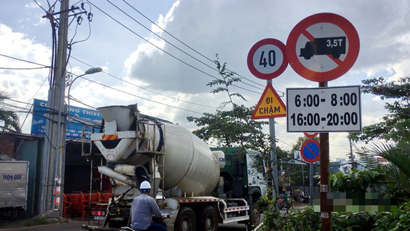 Rampaging trucks a shocking problem for urban commuters in Vietnam