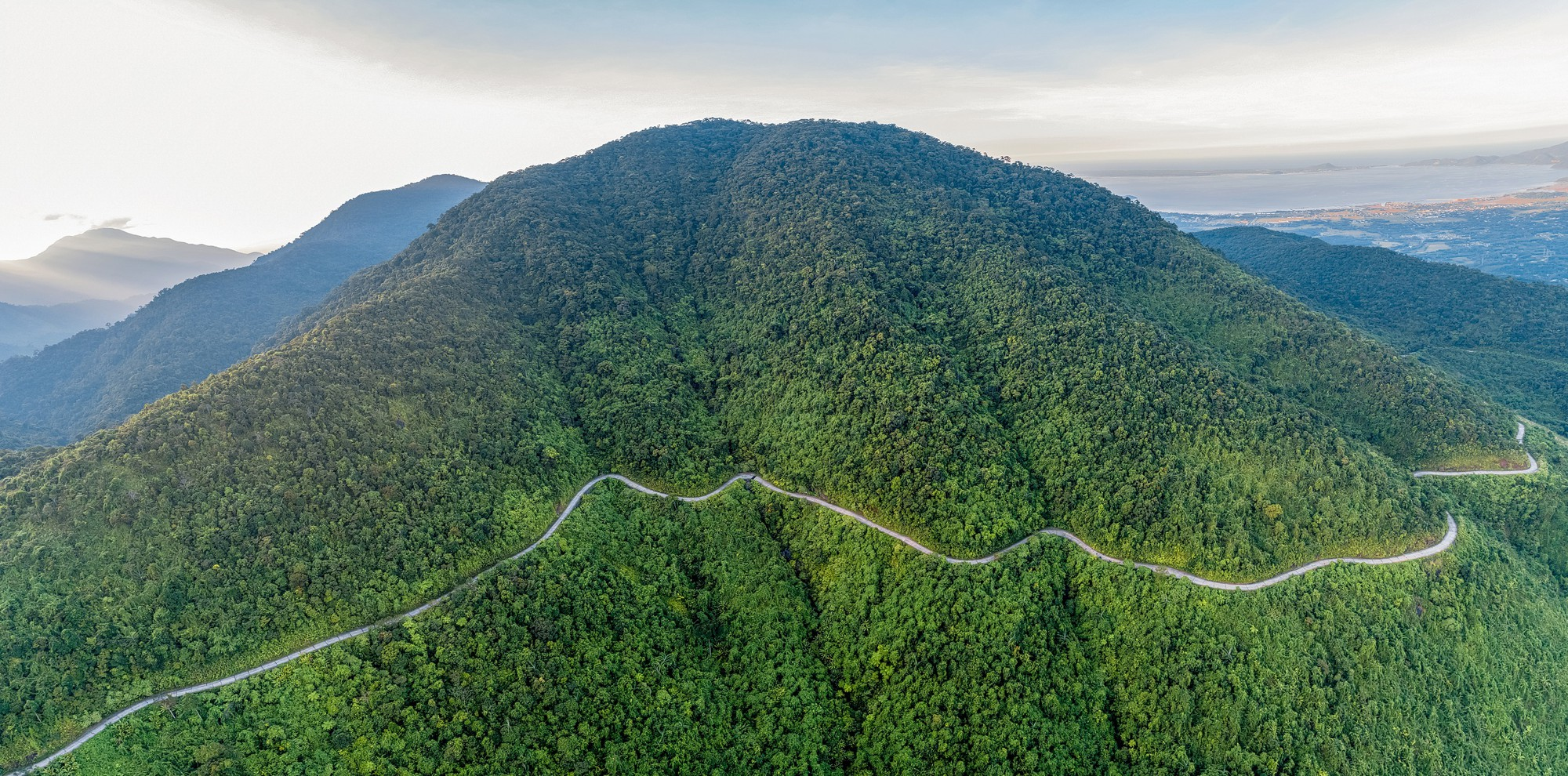 A pass on the side of the Bach Ma Range in central Vietnam. Photo: Nguyen Phong