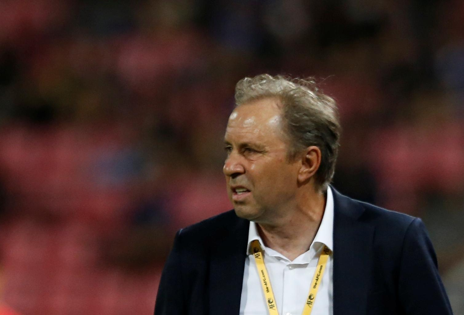Soccer: Thailand fire coach after Asian Cup loss to India