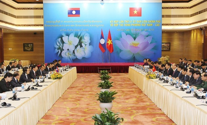 Vietnam-Laos Inter-Governmental Committee discusses bilateral ties during session in Hanoi