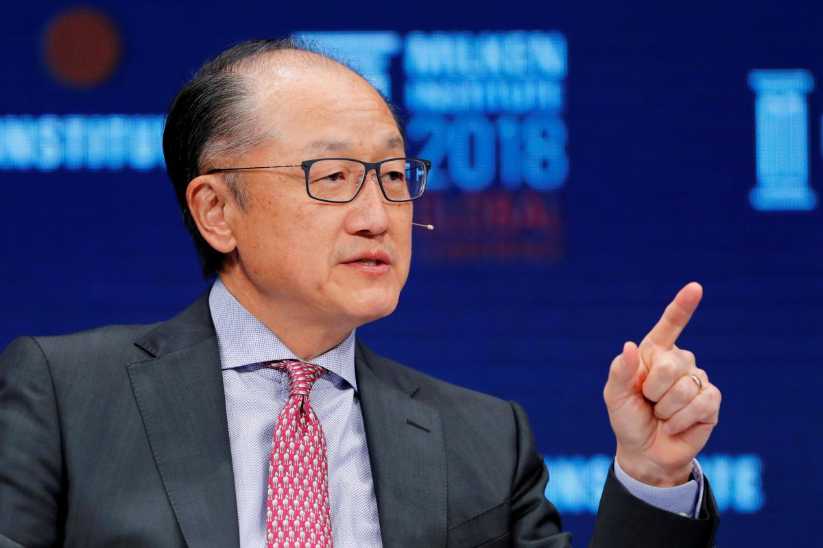 World Bank's Kim abruptly resigns to join infrastructure firm