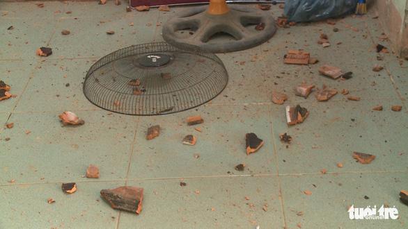 Debris in a house of local resident. Photo: Tuoi Tre