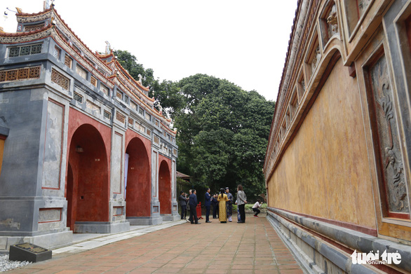 Germany helps restore Vietnam's almost-two-century-old feudal temple