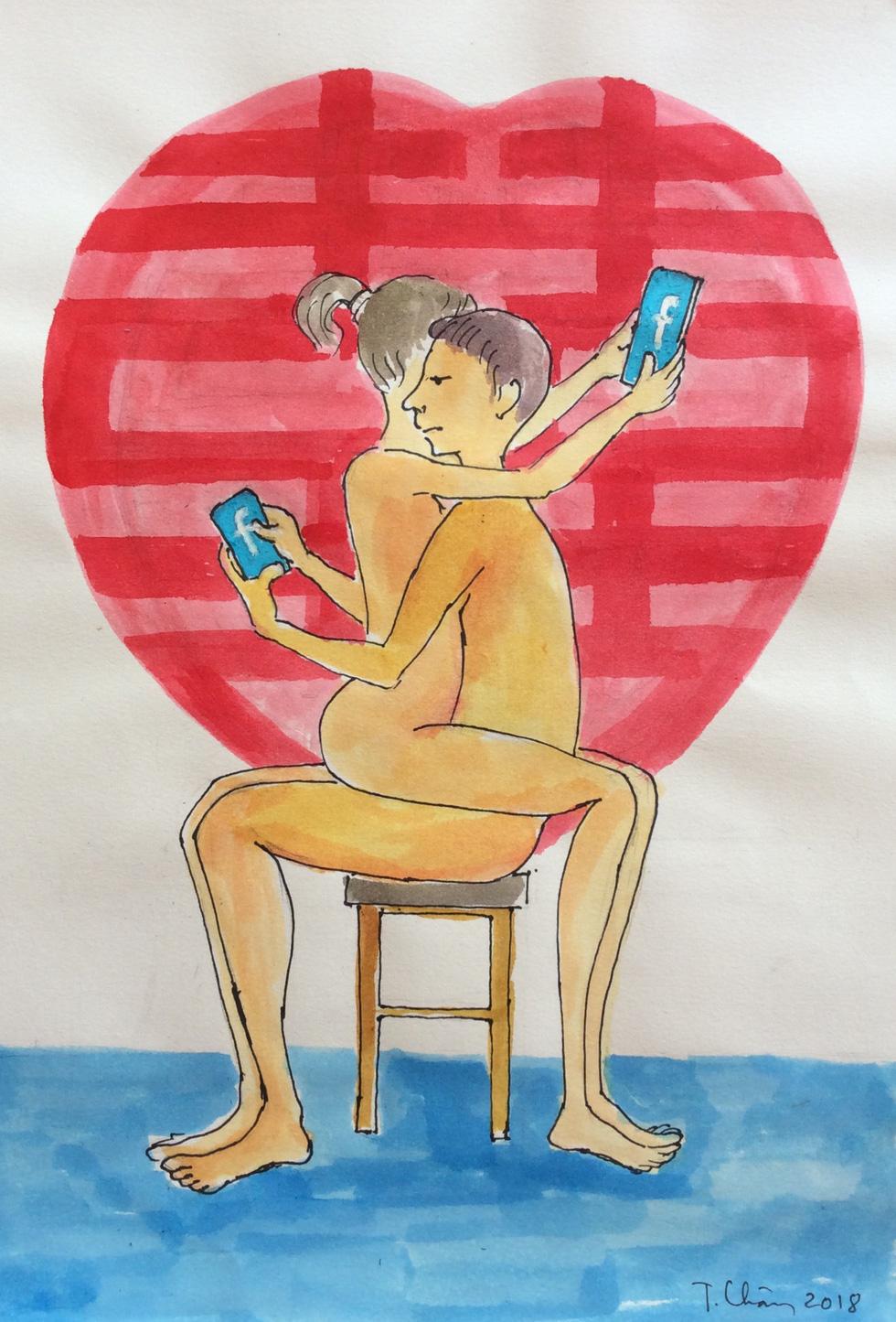 'Tan hon' by Dang Thien Chan
