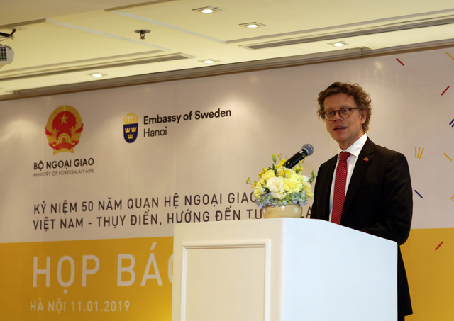 Friendship hailed as Vietnam, Sweden mark 50 years of diplomatic ties