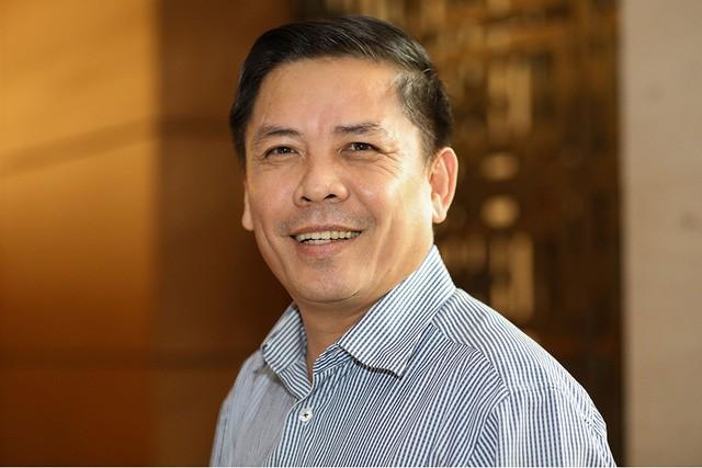 Nguyen Van The, Vietnamese Minister of Transport. Photo: Tuoi Tre