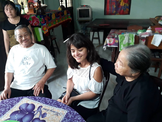 Seeking long-lost father, French woman meets Vietnamese grandparents in poignant reunion