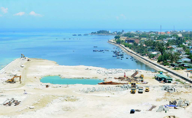 Firm suggests filling sea to build commercial area in Vietnam's would-be UNESCO global geopark