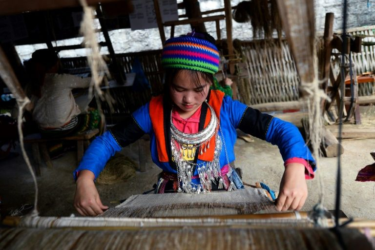 One stitch at a time: weaving rehab for Vietnam trafficking victims