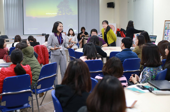 Vietnamese woman to join global community of creative teachers