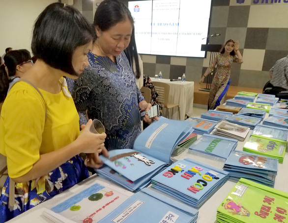 Tactile books for the blind on display in Ho Chi Minh City