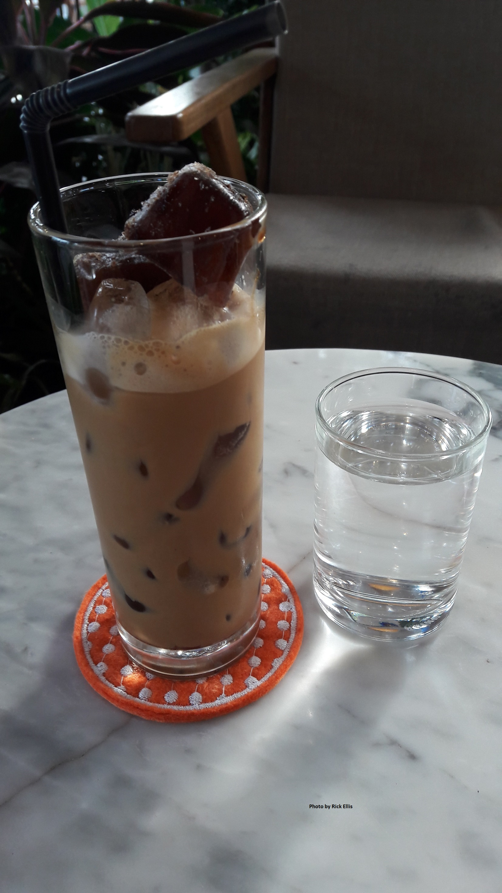 'Ca phe sua da' – Vietnamese milky iced coffee