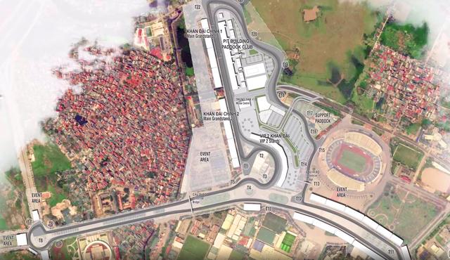 Vietnamese corporation wants to build F1 racetrack in suburban Hanoi