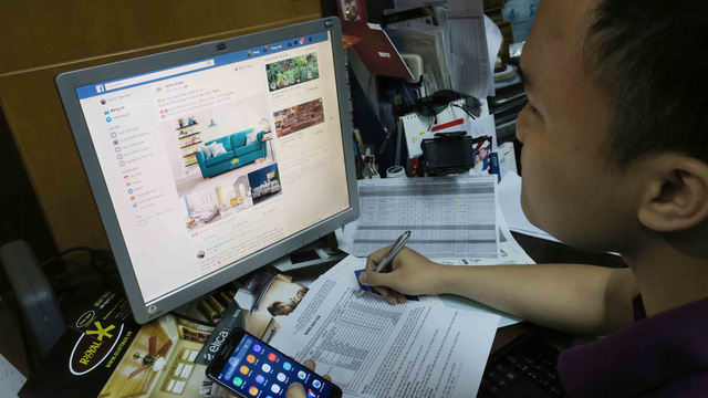 Vietnamese making fortune from Facebook, Google create headache for tax authorities