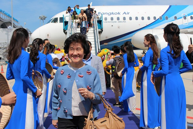 Vietnam welcomes first flight on direct  Bangkok – Cam Ranh route