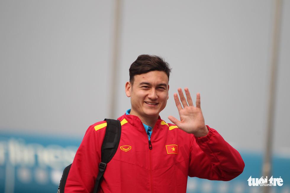 Vietnamese goalkeeper Van Lam
