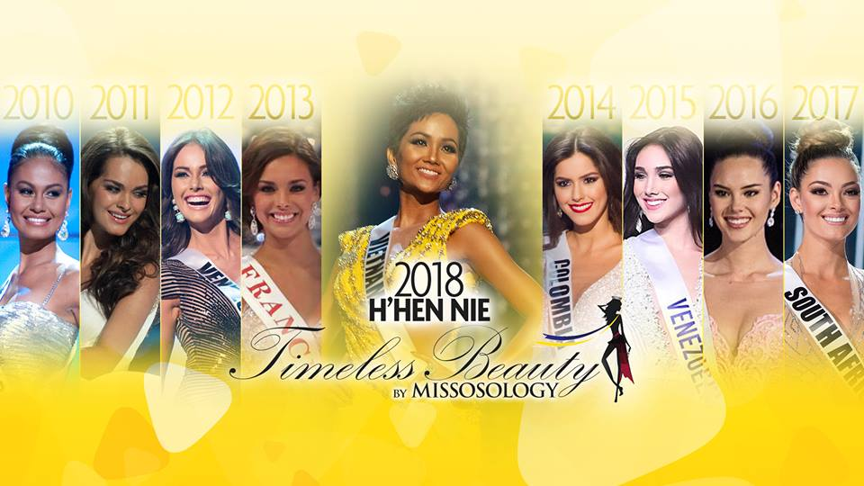 H'Hen Nie is announced as 'Timeless Beauty of 2018' by Missology. Photo: Missology