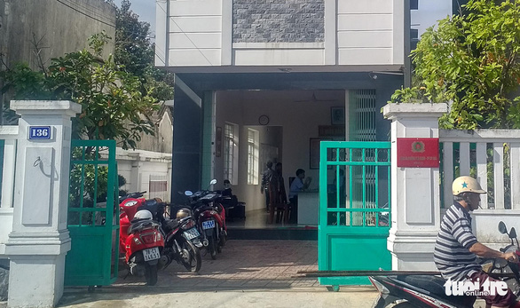 The headquarters of Phu Thanh Ward Police in Tuy Hoa City, Phu Yen Province in south-central Vietnam. Photo: Nhat Tran / Tuoi Tre