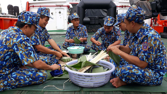 For Vietnam Coast Guard soldiers, Tet is celebrated offshore