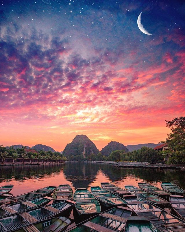 Tam Coc, Ninh Binh in this photo of @selcouth_vagary
