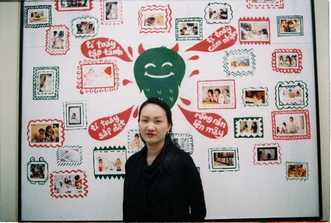 Nguyen Thuy Trang, co-founder of Ti Toay, is seen in this supplied photo.