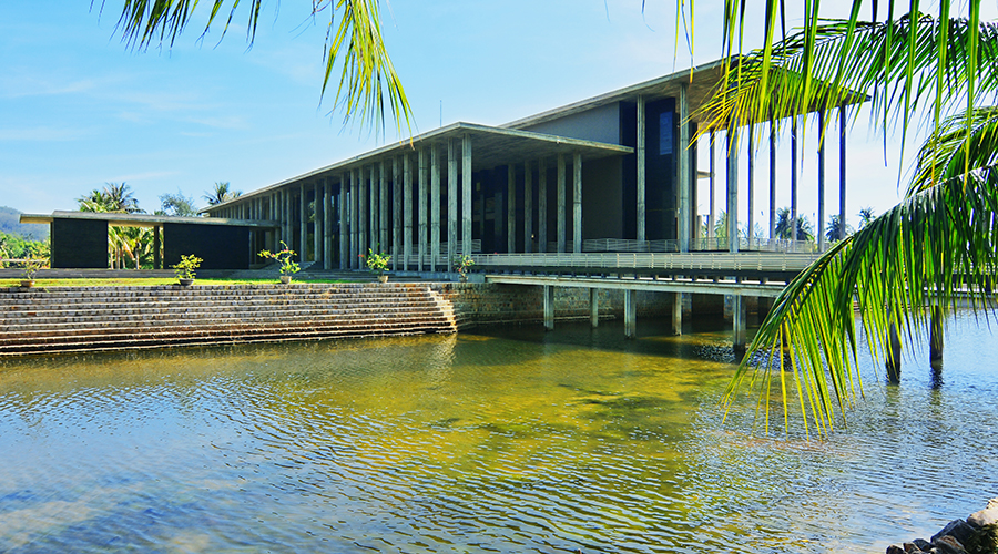 International Center for Interdisciplinary Science and Education in Quy Nhon City in Binh Dinh Province. Photo: Supplied