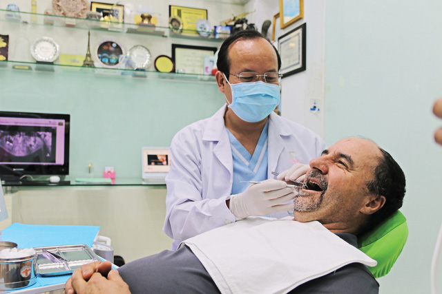 A visit to the dentist in Vietnam