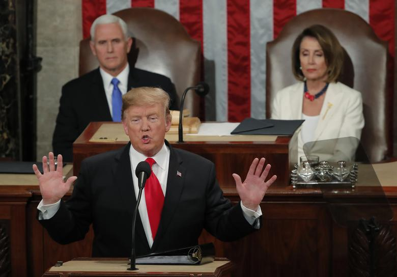 Trump announces place of second Kim summit in State of Union address