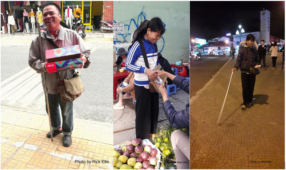 The blind lottery vendors of Da Lat