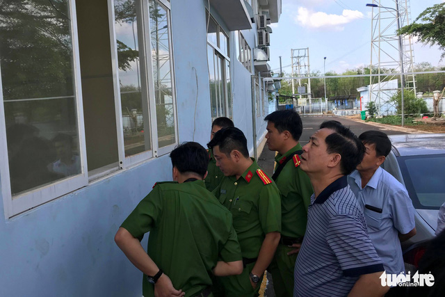 Suspects arrested after robbing $86,000 from expressway toll station in southern Vietnam