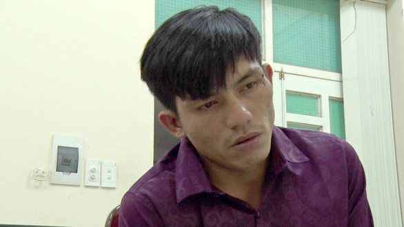 Nguyen Vu Hoang Nam is seen this photo provided by the police.