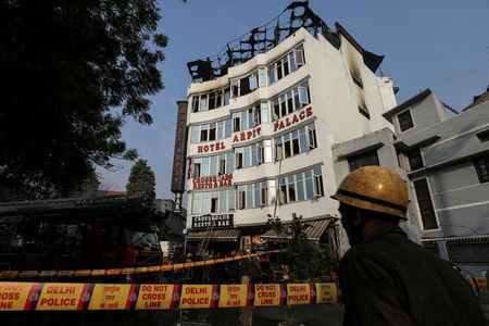 Delhi hotel fire kills at least 17, spurs safety concerns