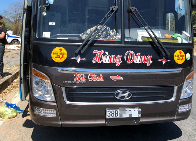 Driver of overloaded sleeper bus found drugged in Vietnam's Central Highlands