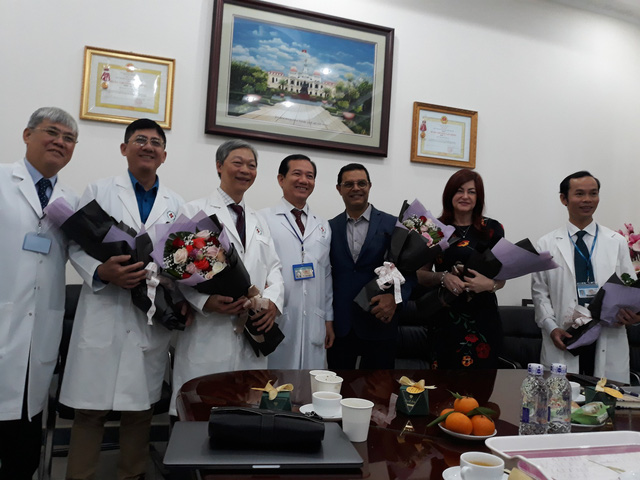 Vietnam hospital performs successful robot-assisted brain surgery