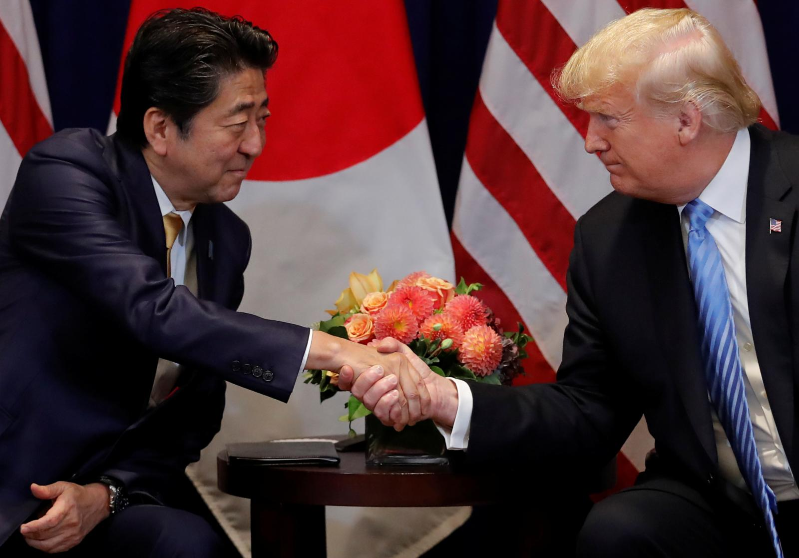 Japan's PM nominated Trump for Nobel Peace Prize on U.S. request: Asahi