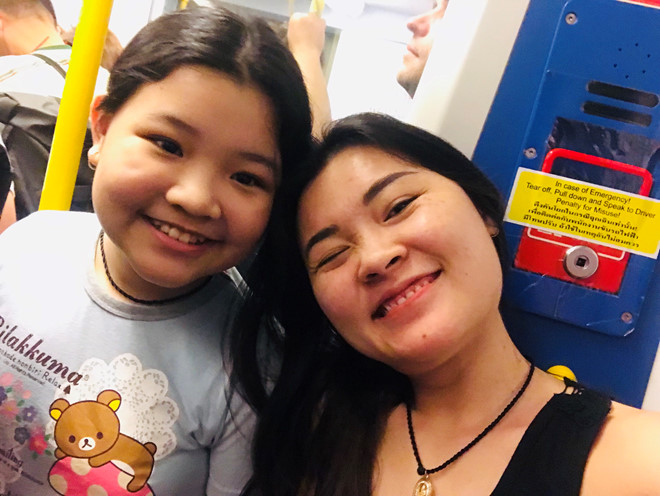 Uyen is lucky enough to have a daughter who is understanding of her profession. Photo: Supplied