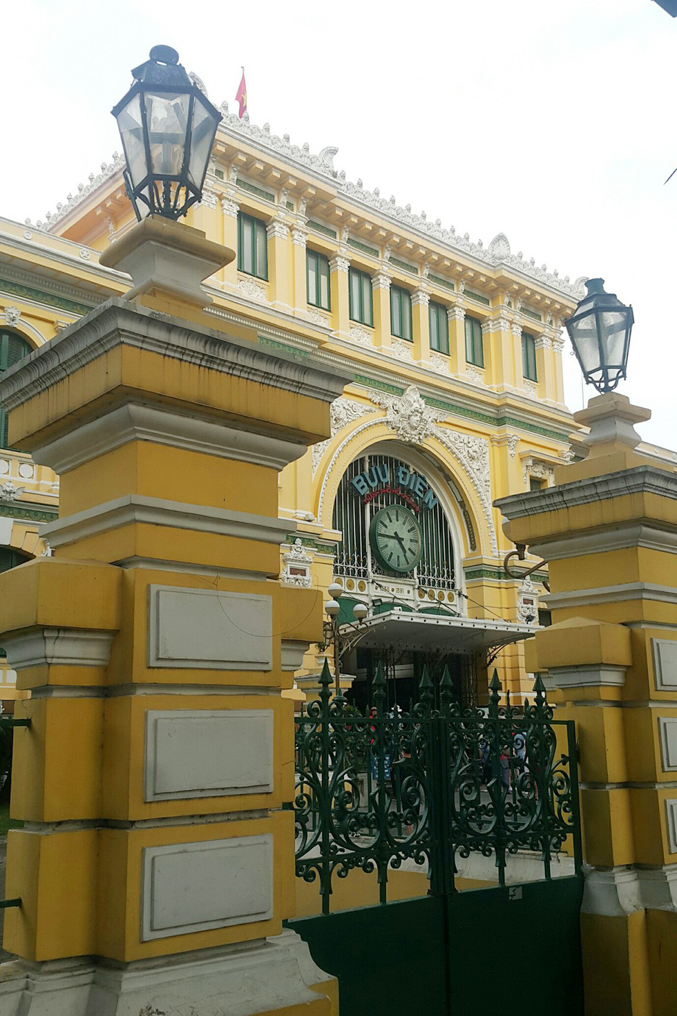 The Ho Chi Minh City's post office is seen in District 1. Photo: Gia Tien / Tuoi Tre