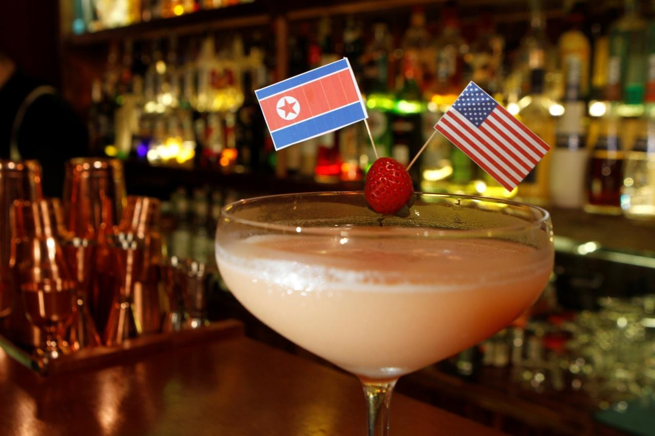 As Trump and Kim prepare for summit, bars in Vietnam serve 'Peace Negroniations'