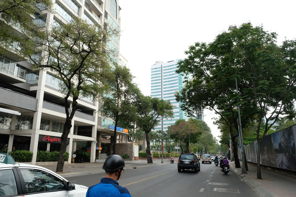 Ton Duc Thang Street is seen in District 1, Ho Chi Minh City. Photo: Gia Tien / Tuoi Tre