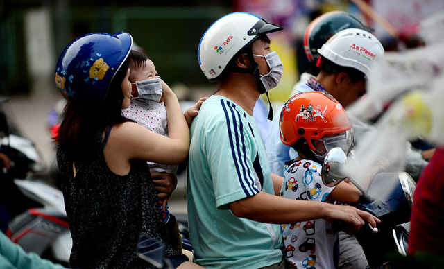 Dust particles threaten life in Hanoi, Ho Chi Minh City
